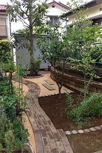 after garden